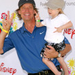 Stock Photo: Kevin Sorbo and daughter Octaviat Time For Heroes Celebrity Carnival benefitting Elizabeth Glaser Pediatric AIDS Foundation. Wadsworth Theater, Los Angeles, CA. 06-08-08