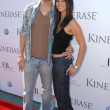 Eric Winter and Roselyn Sanchez at the Kinerase Skincare Celebration On The Pier hosted by Courteney Cox to benefit the EV Medical Research Foundation. Santa Monica Pier, Santa Monica, CA. 09-29-07 - Stock Photo