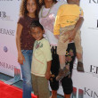 Holly Robinson Peete and familyat the Kinerase Skincare Celebration On The Pier hosted by Courteney Cox to benefit the EV Medical Research Foundation. Santa Monica Pier, Santa Monica, CA. 09-29-07 - Stock Photo
