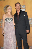 Kate Hudson and Matthew McConaughey in the press room at the 14th Annual Screen Actors Guild Awards. Shrine Auditorium, Los Angles, CA. 01-27-08 — Stock Photo