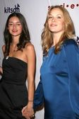 Caroline D'Amore and Jennifer Freeman at the Rock The Vote By Society Launch Party hosted by Christina Aguilera. Kitson, West Hollywood, CA. 11-13-07 — Stock Photo