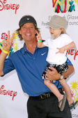 Kevin Sorbo and daughter Octavia at A Time For Heroes Celebrity Carnival benefitting the Elizabeth Glaser Pediatric AIDS Foundation. Wadsworth Theater, Los Angeles, CA. 06-08-08 — Stock Photo