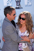 Robert downey jr. e susan downey — Foto Stock