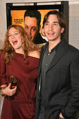 Drew Barrymore and Justin Long — 图库照片
