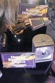Kazon Disruptor and Hand Beacon Light — Stock Photo