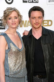 Anne Marie Duff and James McAvoy — Fotografia Stock