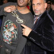 Stock Photo: Keetand ChristiAudigier at Ed Hardy Holiday Party. Ed Hardy Store, Hollywood, CA. 12-14-07