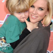 Jenny McCarthy and son Evan at the launch party for KidsLA Magazine. The Treehouse Social Club, Los Angeles, CA. 12-09-07 - Zdjcie stockowe