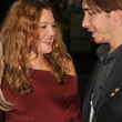 Drew Barrymore and Justin Long - Zdjcie stockowe