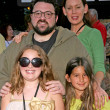 Kevin Smith with Jennifer Schwalbach Smith and family at the World Premiere of Wall E. Greek Theatre, Hollywood, CA. 06-21-08 — Stock Photo
