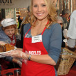 Alana Curry at the Los Angeles Missions Thanksgiving Dinner For the Homeless. L.A. Mission, Los Angeles, CA. 10-21-07 - Stok fotoğraf