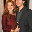 Drew Barrymore and Justin Long - Stok fotoğraf