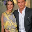 Balthazar Getty and wife Rosetta — Stock Photo