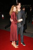 """Drew Barrymore and Justin Long at the Los Angeles Premiere of """"Vince Vaughn's Wild West Comedy Show"""". Egyptian Theatre, Hollywood, CA. 01-28-08 — Stock Photo"""