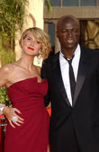 Heidi Klum and Seal — Stock Photo
