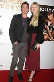 Donovan Leitch and Kirsty Hume — Stock Photo