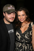 Adam Rifkin and Alicia Arden at the Preview Screening of National Lampoons Homo Erectus. Egyptian Theatre, Hollywood, CA. 07-09-08 — Stock Photo
