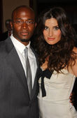 Taye Diggs and Idina Menzel — Stock Photo