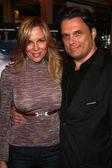 Kari Whitman and Damian Chapa — Stock Photo