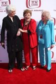 Beatrice arthur, rue mcclanahan, betty branco — Fotografia Stock