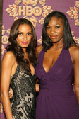 Selita Ebanks and Serena Williams — Stock Photo