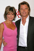 Lisa Rinna and Harry Hamlin — Foto de Stock