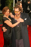 Marcia Gay Harden and Julian Schnabel — Stock Photo