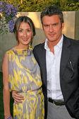 Balthazar Getty and wife Rosetta — Stock Photo