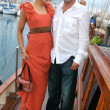Alexandra Fulton and Max Gottlieb  at the Cedar Lane Yacht Party. Cedar Lane Yacht, Cannes, France. 05-18-08 - Foto Stock