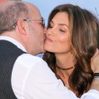 John Varvatos and Cindy Crawford - Stock Photo