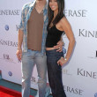 Eric Winter and Roselyn Sanchez at the Kinerase Skincare Celebration On The Pier hosted by Courteney Cox to benefit the EV Medical Research Foundation. Santa Monica Pier, Santa Monica, CA. 09-29-07 — Foto de Stock