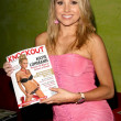 Alana Curry at Knockout Magazine August issue Party Hollys West, Santa Monica, CA. 07-03-08 — Foto Stock