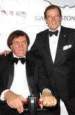 Richard Kiel and Roger Moore — Stock Photo