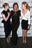 Kirsten Dunst with Rita Wilson and Kate Hudson — Stockfoto