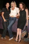 Alicia Arden and friends — Stock Photo