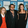 Julian Schnabel and family — Stock Photo