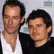 Sebastian Copeland and Orlando Bloom — Stock fotografie