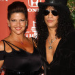 Stok fotoğraf: Slash and wife Perla