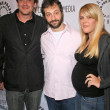 Постер, плакат: Jason Segal with Judd Apatow and Busy Philipps