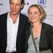 Sebastian Copeland and Julie Delpy — Stock Photo