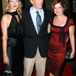 Alison Eastwood, Clint Eastwood, Marcia Gay Harden — Stock Photo