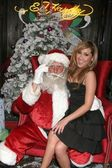 Adrienne Bailon at the Ed Hardy Holiday Party. Ed Hardy Store, Hollywood, CA. 12-14-07 — Stock Photo