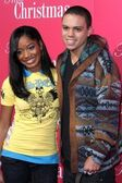 Keke Palmer and Evan Ross — Foto de Stock