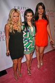 Aubrey ODay, Kimberly Kardashian, Khloe Kardashian — Stock Photo
