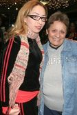 Jennifer Leeser and guest at the Ed Hardy Holiday Party. Ed Hardy Store, Hollywood, CA. 12-14-07 — Stock Photo