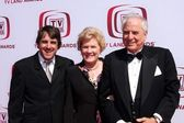 Scott marshall com barbara marshall e garry marshall — Fotografia Stock