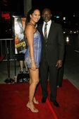 Kimora Lee Simmons and Djimon Hounsou — Stock Photo