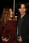 Drew Barrymore and Justin Long — Stock Photo