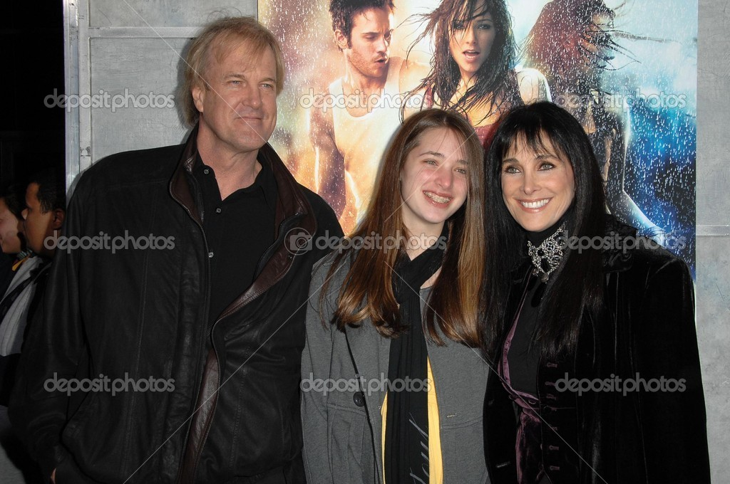 Connie Sellecca and family