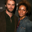 Постер, плакат: Garret Dillahunt and Michelle Hurd at the Screening Party for Terminator The Sarah Connor Chronicles Cinerama Dome Hollywood CA 01 09 08